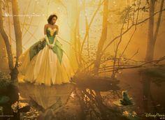 Jennifer Hudson as Tiana -- Annie Leibovitz's Disney Dream Portraits