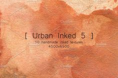 Urban Inked 5 by TheUrbanLine on @creativemarket