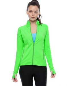 Cardio Zip Jacket  Nothing wrong with it.   Be seen be safe