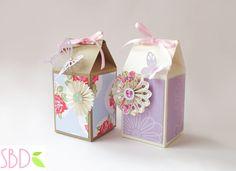 Tutorial: Scatoline del latte - Milk Carton DIY