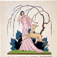 Woman & Deer