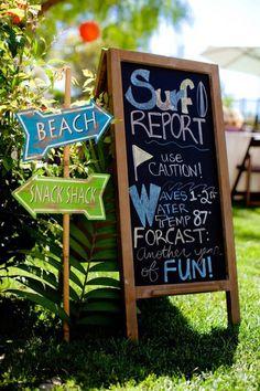 Vintage Surf Birthday Party via Kara's Party Ideas   KarasPartyIdeas.com (38)