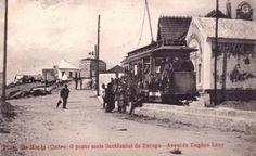 Sintra tram  - Praia das Maçãs, Avenue eugene levy