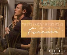 Until forever and a day. Experience #TheChoice – Now Playing! Get tickets - lions.gt/choicetix