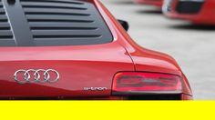 AUDI R8 e-tron teaser by designboom