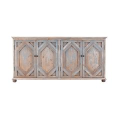 You can have your rustic style and still enjoy the finer things when you arrange this handsome sideboard in your home. Its distressed, matte-finished doors conceal generous shelving to hold your favori...  Find the Francine Rustic Sideboard, as seen in the Cabinets Collection at http://dotandbo.com/category/furniture/bookcases-and-cabinets/cabinets?utm_source=pinterest&utm_medium=organic&db_sku=103139