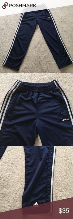 Adidas Track Pants Excellent condition. Size XS or Junior 16-18 adidas Pants Sweatpants & Joggers