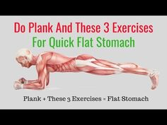 How to Get a Flat Stomach in a Month at Home - Abs Workout Planking - YouTube