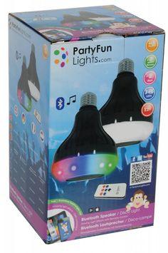 Disco Led Party lamp met Bluetooth Speaker (Incl. Afstandsbediening)