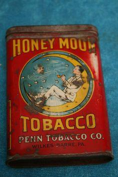 Honeymoon Pocket Tobacco Tin