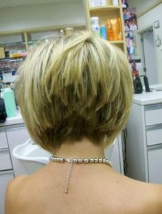 stacked bob haircut pictures back head  Best Choice Performance Good For All Age                                                                                                                                                                                 More