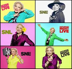 Betty's Golden SNL Night