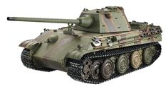 Taigen Panther F Metal Edition Airsoft 2.4GHz RTR RC Tank 1/16th Scale - Panther F
