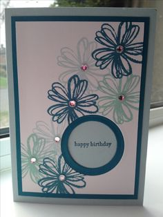 Flower shop Stampin' up