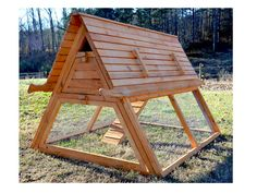 Simple A Frame Chicken Coop Plans