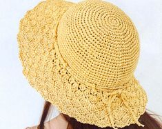 Popular items for summer hat patterns on Etsy