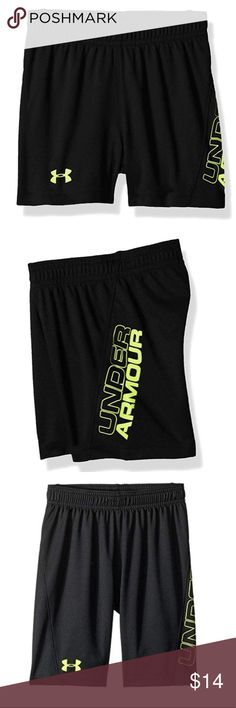 7d30bfb01414 Under Armour Baby Boys Kick Off Shorts 12M NWT Feel light on your toes in  the