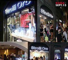 Vogue Fashion Night Out Rome 13.09.2012 @ Stroili Oro precious store in Via Del Corso 141