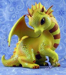 Jasmine's Jeweled Protectors - Dragon figurines from the Hamilton Collection