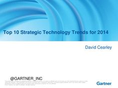 Top 10 tech trends 2014