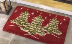 Christmas Door Mat