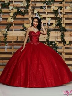 Quinceanera dresses, decorations, tiaras, favors, and supplies for your quinceanera! Many quinceanera dresses to choose from! Quinceanera packages and many accessories available! Mexican Quinceanera Dresses, Mexican Dresses, Quinceanera Party, Red Ball Gowns, Tulle Ball Gown, Sweet 16 Dresses, 15 Dresses, Wedding Dresses, Pageant Dresses
