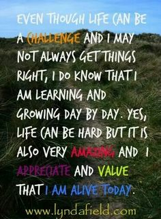 Value each day