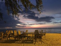 Sunset Kho Lak Thailand