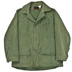 "Montgomery Ward ""Western Field"" Men's Canvas Hunting Jacket | 1940s"