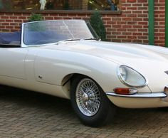 The Jaguar E-Type marked the worldwide success of Jaguar. The Series 1 Convertible is a truly stunning car to behold.