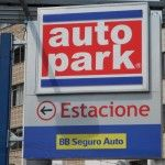 Linguistic Landscapes in Curitiba, Brazil - Car park - Head of the Heard on Multiculturalkidblogs.com