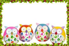 Urban Trends Collection Ceramic Owl Bank Set of Four Ceramic Canister Set, Canister Sets, Canisters, Ceramic Owl, Ceramic Decor, Pottery Painting, Diy Painting, Painted Pottery, Cute Owl