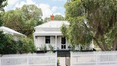 A move to the Macedon Ranges proves a natural fit for a couple looking to return to their roots. Macedon Ranges, Weatherboard House, Sweden House, Victorian Cottage, Victorian Houses, Travel Through Europe, Danish Modern Furniture, Australian Homes, Modern Interior Design