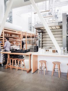 San Francisco's Tartine Manufactory. Via French by Design