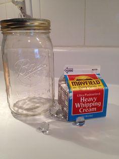 DIY butter