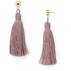 Aqua Jaclyn Fringe Tassel Earrings (€22) ❤ liked on Polyvore featuring jewelry, earrings, lavender, tassel earrings, aqua jewellery, tassel fringe earrings, lavender earrings and fringe jewelry
