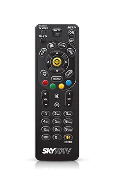 Controle SKY HDTV Zapper