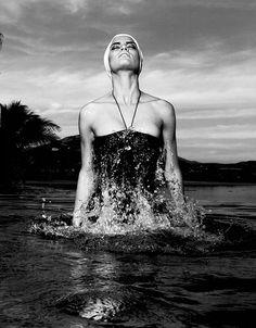 Barbara Fialho photographed by Alexander Neumann for L'Officiel Paris