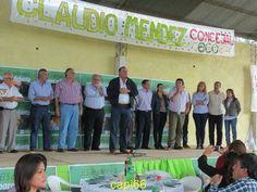 SAUCE junto al gobernador Ricardo,la intendente Irma Obregón , el candidato a concejal Claudio Mendez , los candidatos a legisladores en sauce llevando las propuestas de trabajo  #VamosParaAdelante #ECO #Sauce