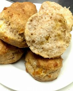 Whole Wheat Cheddar Biscuits Cheddar Biscuits, Pastry Chef, Cookies, Desserts, Food, Crack Crackers, Tailgate Desserts, Biscuits, Meal