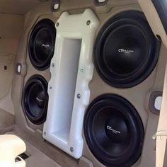 Custom Car Audio, Custom Cars, Car Audio Installation, Subwoofer Box Design, Custom Car Interior, Sub Box, Car Sounds, Car Audio Systems, Vanz