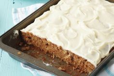 Our most popular recipe ever! This moist carrot cake is welcome at birthdays, weddings, reunions and all special occasions.