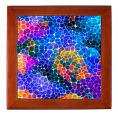 Mosaic Bubbles Keepsake Box > Mosaic Bubbles > Awesome Palette