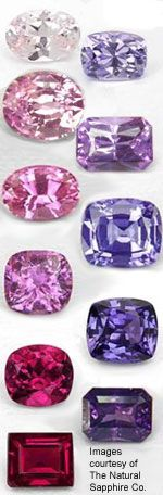 Natural Untreated Sapphires Safiren är i sitt mångfald min favorit, till dessa ska ju stjärnsafiren också nämnas, den mest prisvärda för den som funderar !!