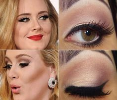 make-up Adele.