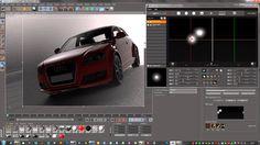 HDR Light Studio live for Cinema 4D - CINEMA 4D Renderer Workflow