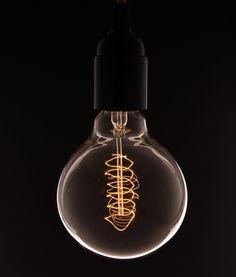 Vintage Radio Ventil mit Spirale Gluhbirne (altmodische Edison) E27: Amazon.de: Beleuchtung