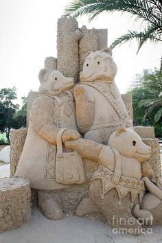 Fairytale Sand Sculpture Photograph
