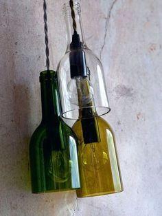 Les lampes-bouteille : il fallait y penser !