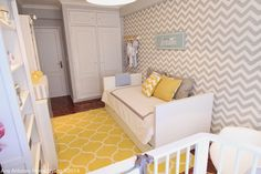 Home-Styling: Querido Mudei a Casa Tv Show #2305 - Before and After Pictures - Baby Room * Antes e Depois - Quarto Bebé